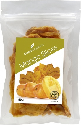 Ceres Organics Mango Slices 90g