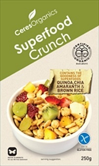 Ceres Organics Superfood Crunch 250g