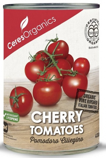 Ceres Organics Cherry Tomatoes 400g (Can)