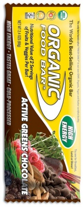Organic Foodbars Active Green Chocolate 12x70gm
