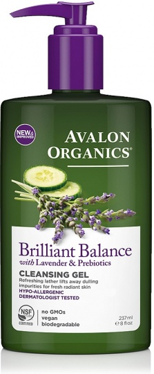 Avalon Organics Brilliant Balance Cleansing Gel with Lavender 237ml