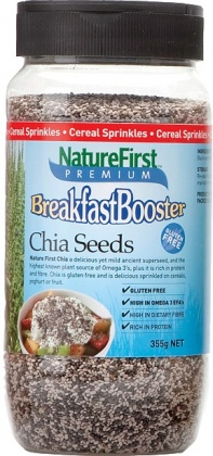 Natures First Breakfast Booster Chia Shaker 355g