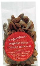 Real Good Foods Tamari Roasted Almonds 200g