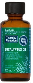 Thursday Plantation Eucalyptus Oil 100% 100ml