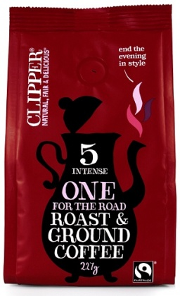 Clipper One for the Road Roast & Ground Coffee 227g