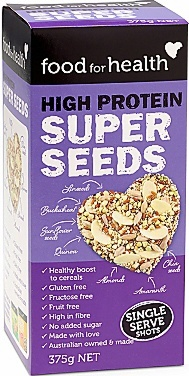 Food For Health High Protein Super Seeds  330g