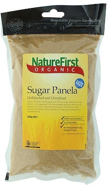Natures First Sugar Panela Organic 500g