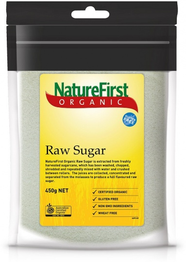 Natures First Organic Raw Sugar 450g