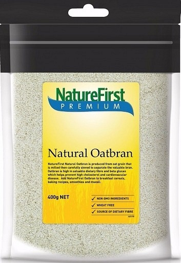 Natures First Premium Natural Oatbran 400gm