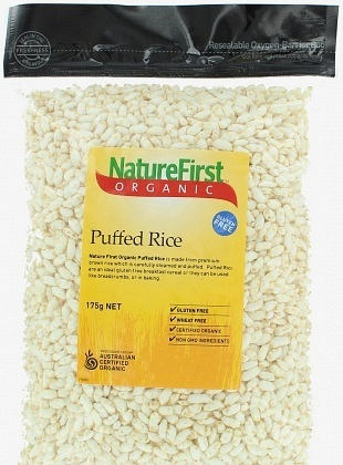 Natures First Organic  Puffed  Rice 125gm