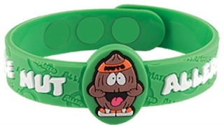 AllerMates ALERT Wristband Nut Allergy
