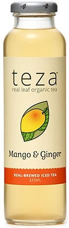 Teza Mango & Ginger Real Brewed Iced Tea 12x325ml
