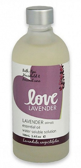 Love Lavender Water Soluble Lavender Oil 100ml