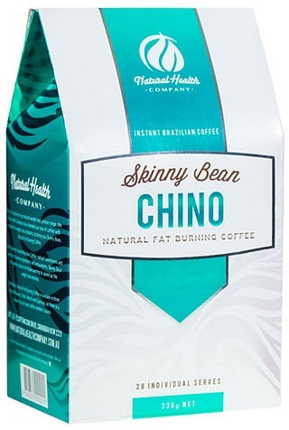 Natural Health Co Skinny Bean Chino Natural Fat Burning Coffee (28Sachets) 336g