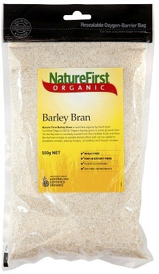 Natures First Organic Barley Bran 500g
