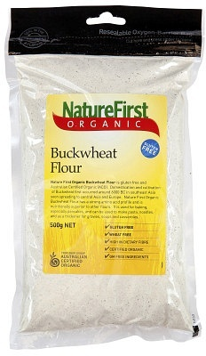 Natures First Buckwheat Flour 500gm