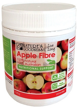 Natures Goodness Apple Fibre Powder 100g