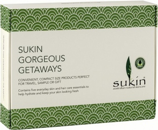 Sukin Gorgeous Getaways 5x50ml