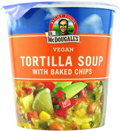 Dr McDougall Big Cup Soup Tortilla with Bake Chips 56g