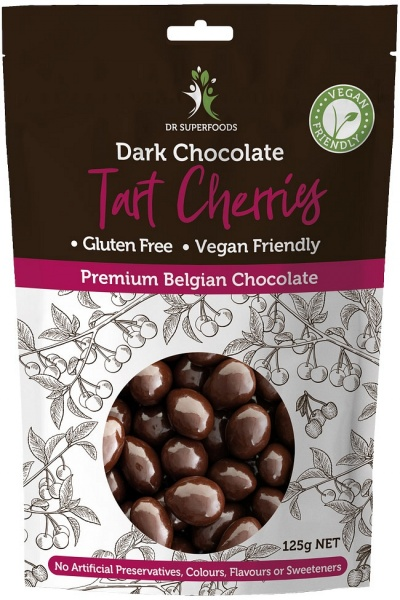 Dr Superfoods Dark Choc Cherry Bombs 125g