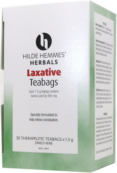 Hilde Hemmes Laxative Tea - 30 Teabags