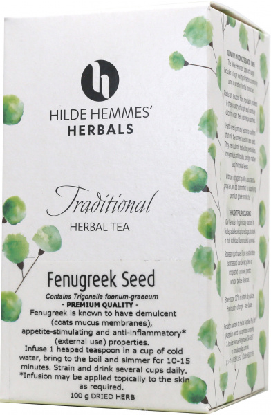 Hilde Hemmes Fenugreek Seed 100gm