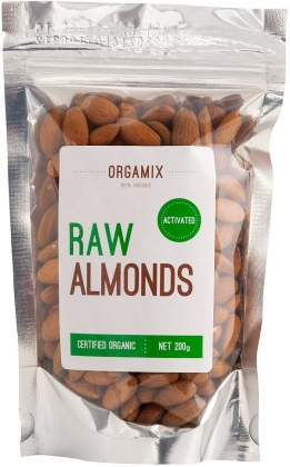 Orgamix Organic Raw Almonds Activated  200g