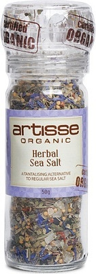 Artisse Org Herbal Sea Salt - Grinder 50g