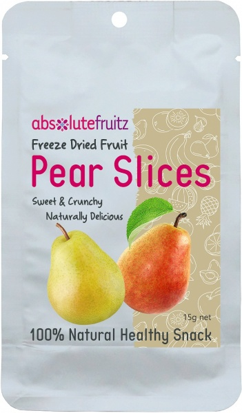 Absolute Fruitz Freeze Dried Pear 20g