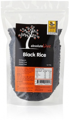 Absolute Live Wholegrain Black Rice 500g