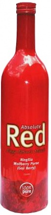 Absolute Red NingXia Wolfberry ( Goji Berries ) Puree 750ml