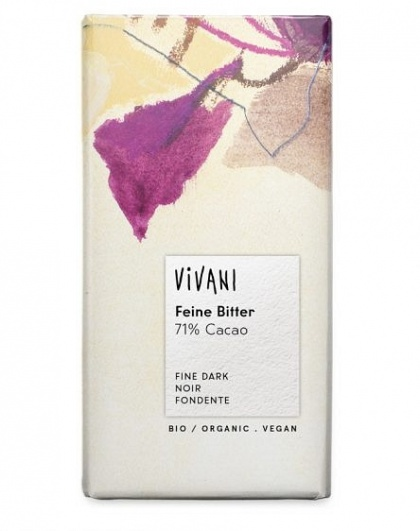 Vivani Dark 72% Organic Chocolate Block100g