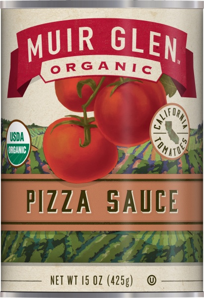 Muir Glen Pizza Sauce - Low fat 426gm