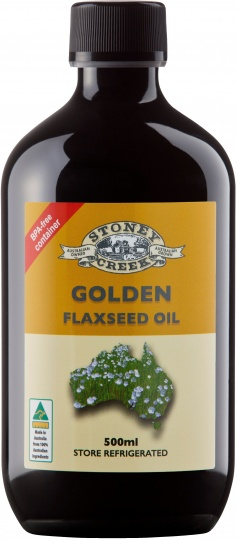 Stoney Creek Tassie Gold Golden Flaxseed Oil 500ml