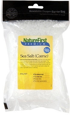 Natures First Sea Salt Coarse 500gm