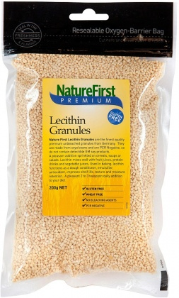 Natures First Lecithin Granules Unbleached 200gm