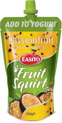 Easiyo Real Fruit Squirt Topping - Passionfruit 250g
