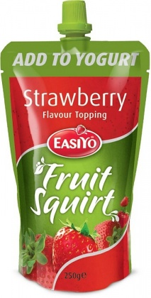 Easiyo Real Fruit Squirt Topping - Strawberry 250g