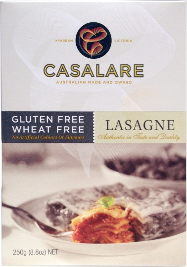Casalare Lasagne Sheets   (Box) 250g