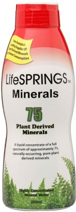 LifeSprings Colloidal Minerals 200ml