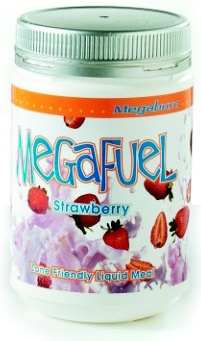 Megaburn Mega Fuel Strawberry 600gm