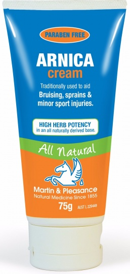 Martin & Pleasance Arnica Cream 75g Tube