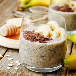 Banana, Honey and Cinnamon Chia Pudding