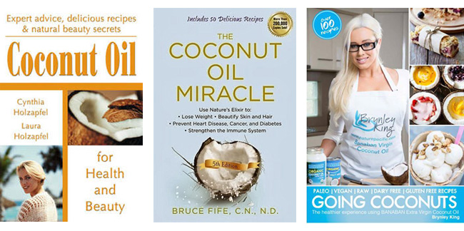 Coconut Oil Books
