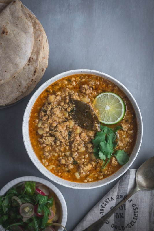 Pork Mince Curry
