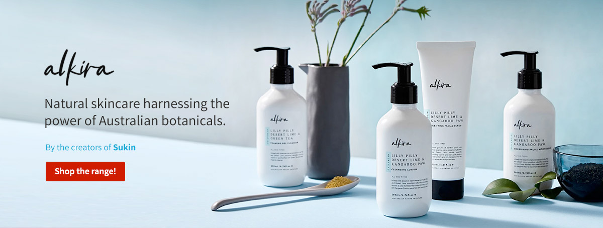 natural skincare by alkira