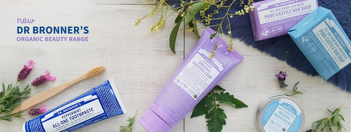 Dr Bronners Soaps and Skincare