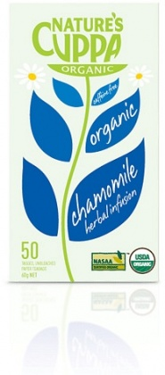 Natures Cuppa Organic Chamomile 50 Teabags