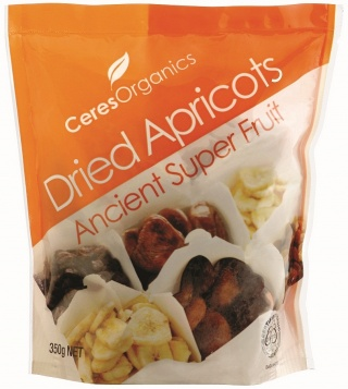 Ceres Organics Apricots Dried 350g