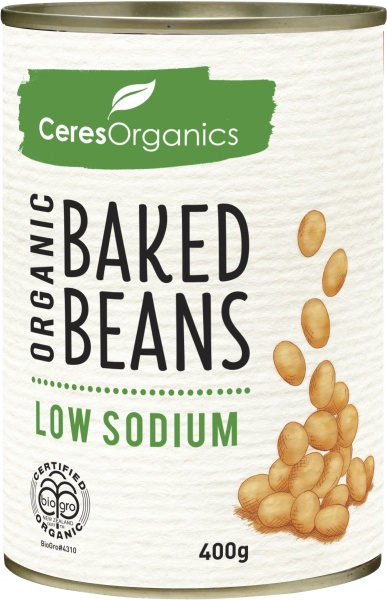 Ceres Organics Baked Beans 400g (Can)
